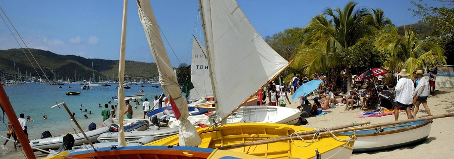 Bequia Regatta - Lower Bay